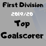 Top Goalscorer Table – First Division 19/20