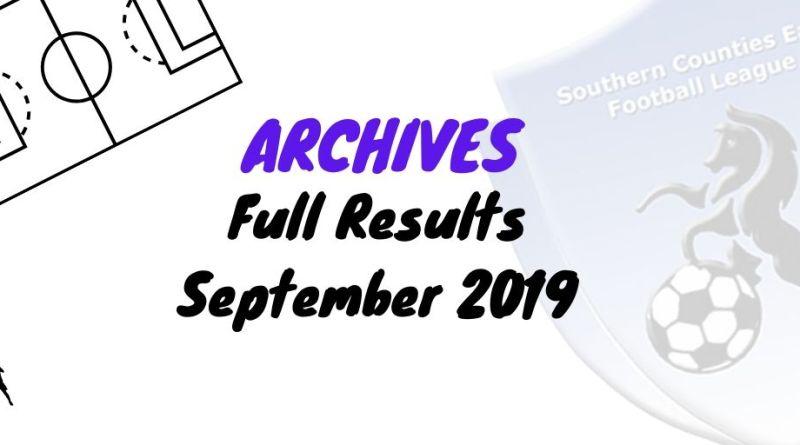 scefl season September 2019