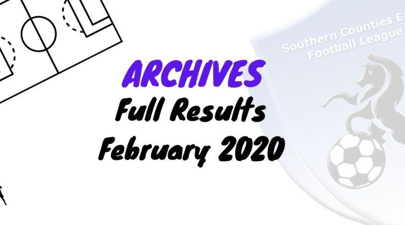 scefl season february 2020