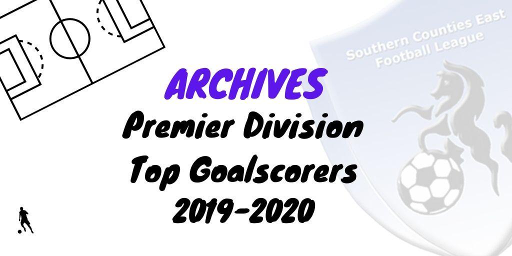 scefl top goalscorers 2020 premier division