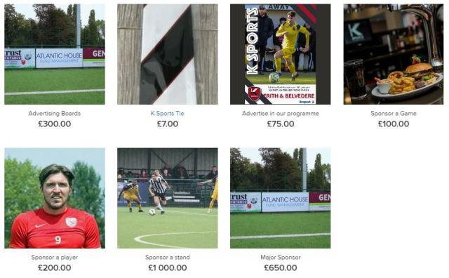 k sports online shop