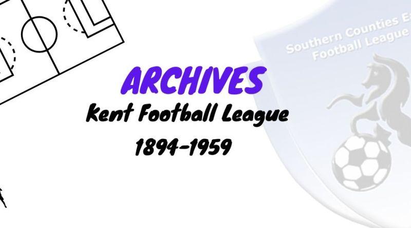 kent football league 1894