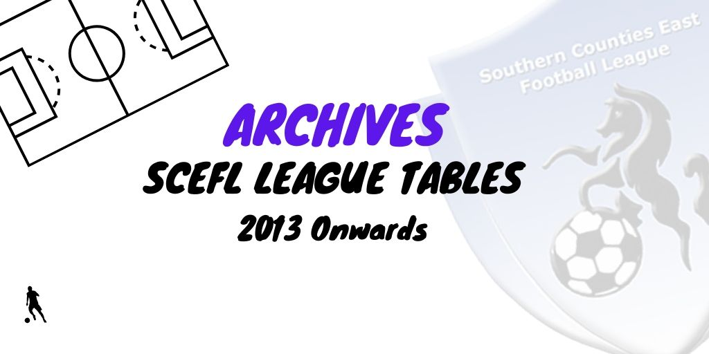 scefl kent league tables archive