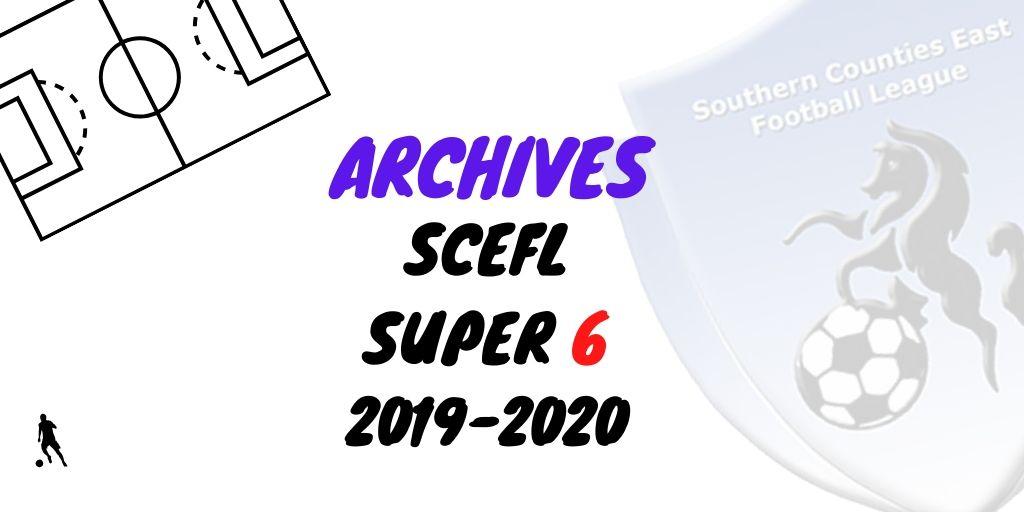 scefl super 6 six 2019 2020