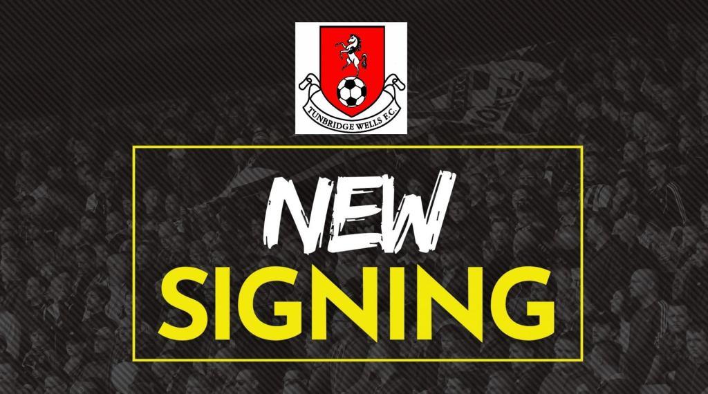 tunbridge wells new signing