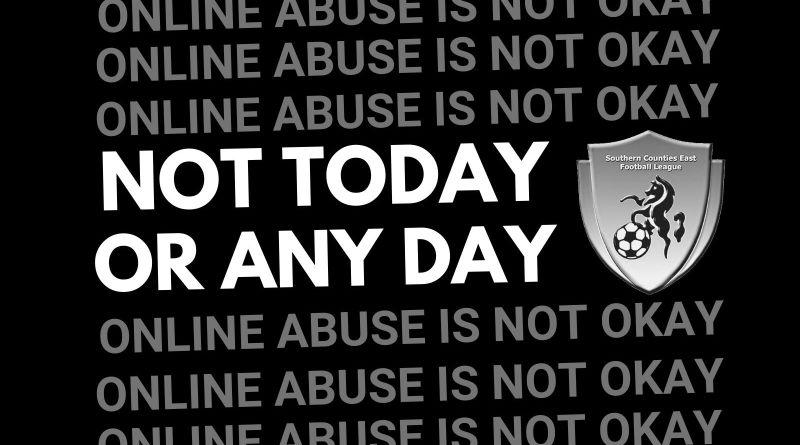Online Abuse not okay
