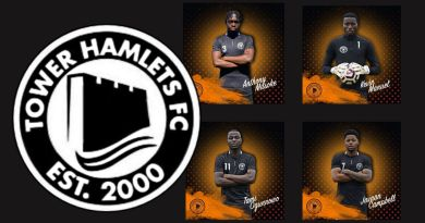 Tower Hamlets 2122 Squad