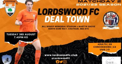 Lordswood v Deal Town