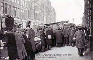 London, Farringdon Road 1900's