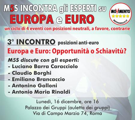 incontri su euro e europa3