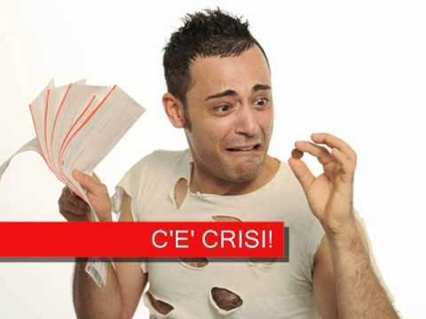 c'e' crisi