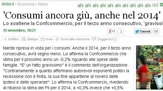 italia consumi giù 204