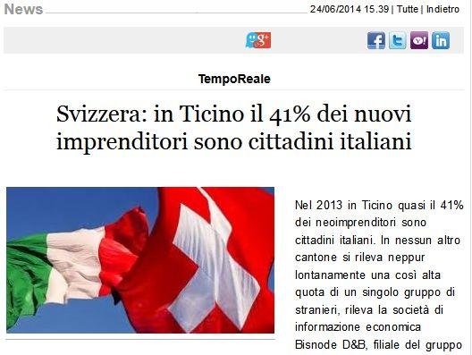 Svizzera Ticino imprenditori red