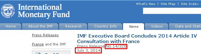 FRANCIA E IMF 0