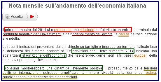 NOTA ISTAT ECONOMIA 2 E 3 TRIMESTRE