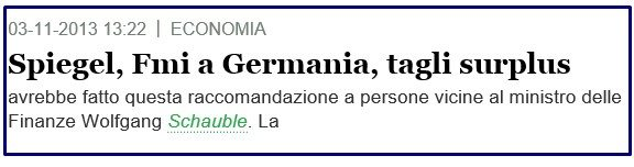 FMI SU GERMANIA