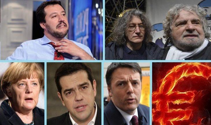 DRAGHI, LA TERZA GUERRA MONDIALE, RENZI, SALVINI E I NO-EURO (di Nino Galloni)