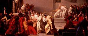 Giulio Cesare pugnalato