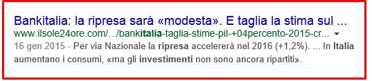 ITALIA RIPRESA INVESTIMENTI 2015 NUM 2