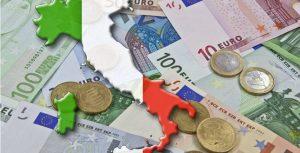 Crisi zona euro, debito pubblico dell'Italia alle stelle