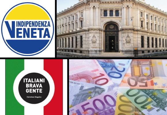 Nuova Banca Pubblica, progetto nel programma di Indipendenza Veneta