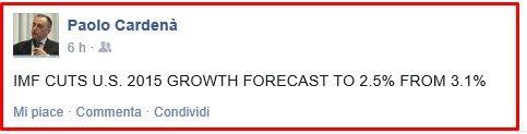 ALITALIA VOLA COME ITALIA crescita usa