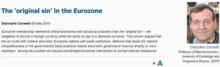 "FireShot Screen Capture #110 - 'The Eurozone's ""original sin"" I VOX, CEPR's Policy Portal' - www_voxeu_org_article_eurozone-s-original-sin"