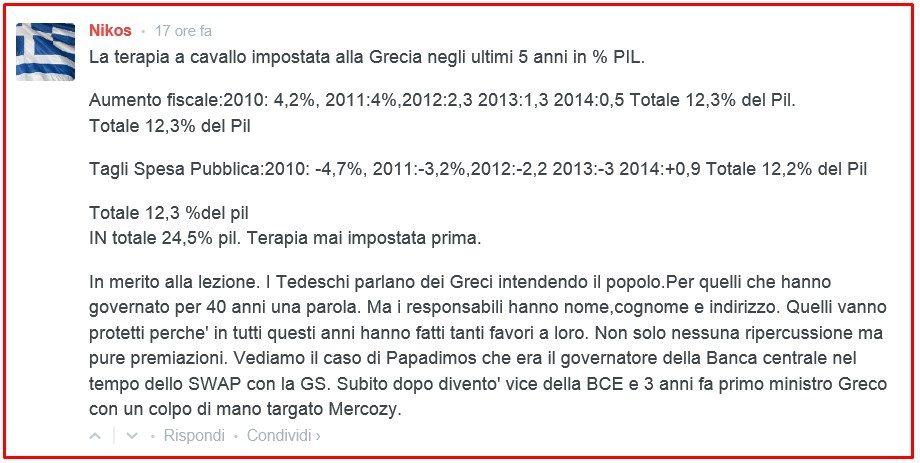 NIKOS TAGLI E TASSE GRECIA 2010_2014
