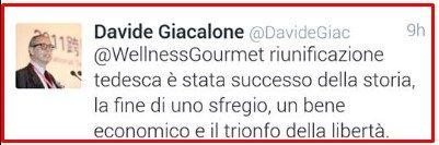 BORGHI GIACALONE E IL TRIONFO DELLA LIBERTA
