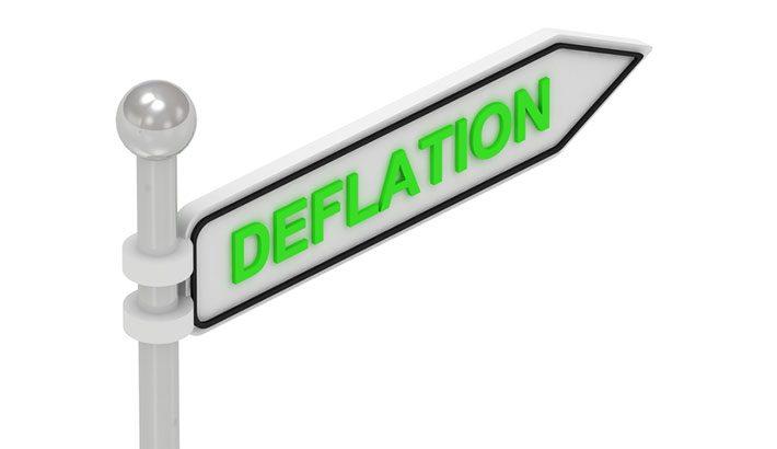 Luglio conferma una pericolosa situazione di deflazione