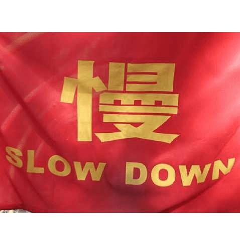 china slow down