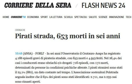 FireShot Screen Capture #264 - 'ultimaora - flash news 24 Corriere della Sera' - www_corriere_it_notizie-ultima-ora_Cronache_e_politica_Pirati-strada-653-morti-sei-anni_07-04-2014_1-A_011778922_shtml