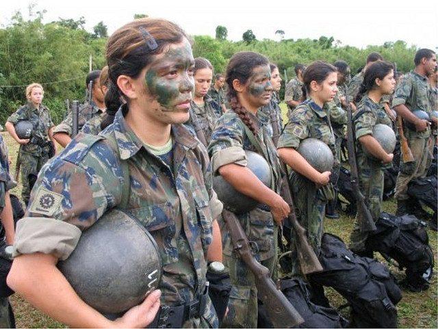 brasile soldatesse