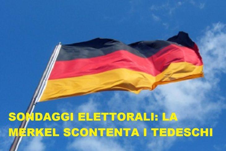 SONDAGGIO GERMANIA: PER LA PRIMA VOLTA EUROSCETTICI AL 10%