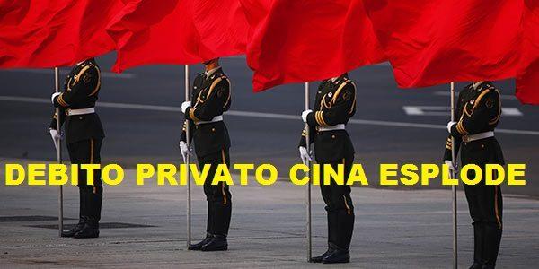 CINA: IL BOOM DEI DEBITI NEL SETTORE PRIVATO