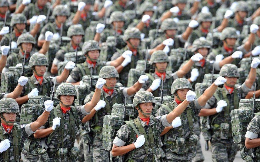 sud corea soldati