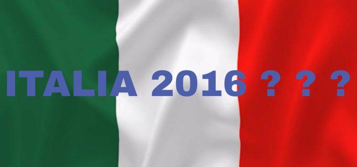 OUTLOOK ITALIA 2016