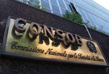 Roma Commisione Nazionale per le Societa e la Borsa CONSOB Finanza Istituzioni Esterni