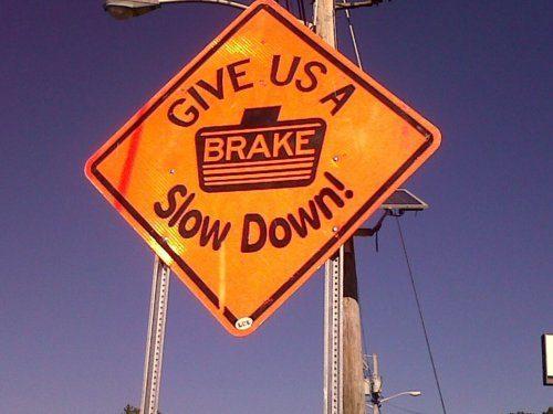 USA slow down