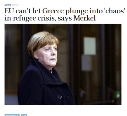 Cattura merkel migrants