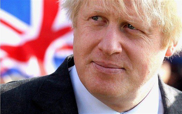 Boris Johnson , sindaco conservatore di Londra si schiera per il Brexit contro Cameron.