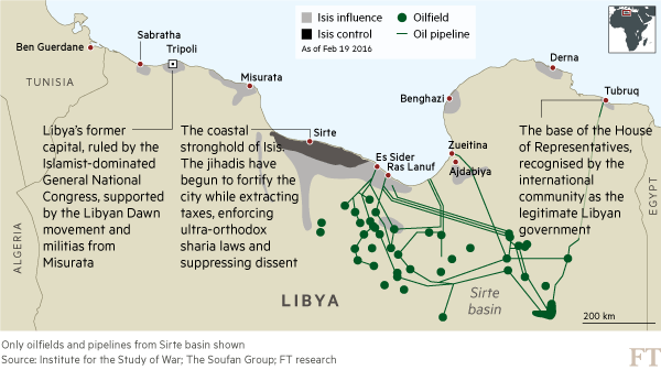 pipelines libia