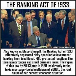 glass-steagle-and-bill-clinton