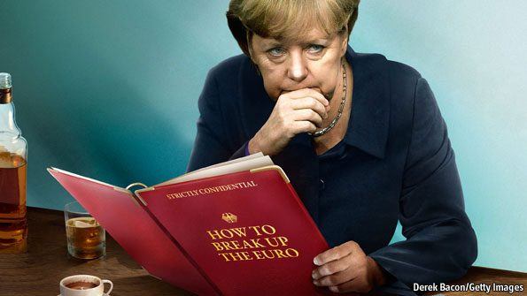 merkel break up