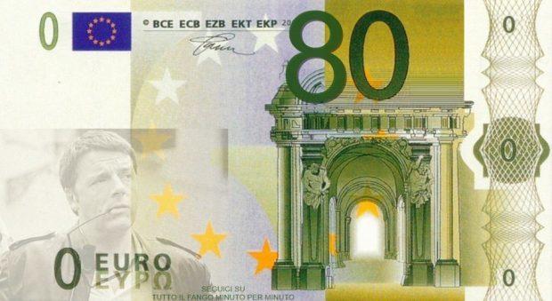 PERCHÈ GLI 80 EURO NON SERVONO AL PAESE? di Luca Tibaldi