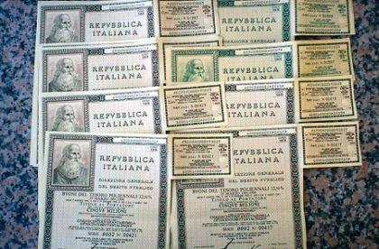 EFFETTO DEL QE SUL RENDIMENTO DEI TITOLI DI STATO ITALIANI. E DOPO?