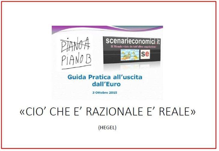 TURBOLIBERISMO, PIANO B ALTERNATIVA PER L'ITALIA E PERSONALISMI: le slide del congresso di sabato 26 novembre a Città di Castello