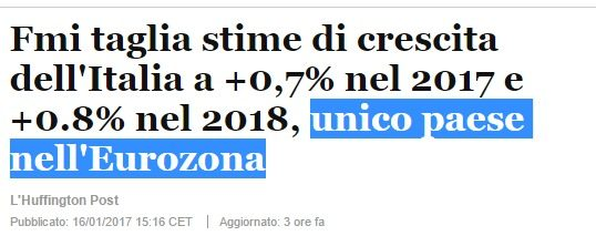 L'EU minaccia l'Italia: il Governo deve scegliere l'infrazione se non vuole andare contro il nuovo corso USA. Poi vedremo…