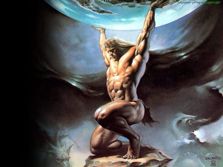 Atlante ha santi in paradiso, in subordine geometri