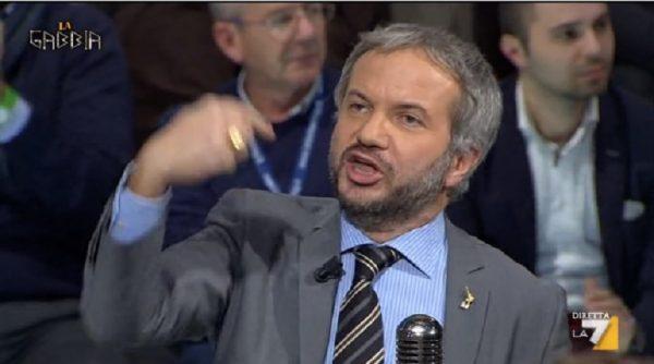 """Claudio Borghi : """"Svelata la bufala del reddito di cittadinanza del M5S."""""""